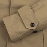 Nanamica GORE-TEX Short Soutien Collar Men`s Coat Beige photo- 4