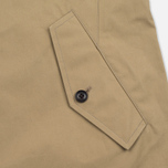 Nanamica GORE-TEX Short Soutien Collar Men`s Coat Beige photo- 5