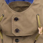 Nanamica GORE-TEX Short Soutien Collar Men`s Coat Beige photo- 3