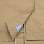 Nanamica GORE-TEX Short Soutien Collar Men`s Coat Beige photo- 7