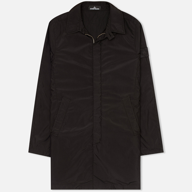 Мужской плащ Stone Island Shadow Project Anti-drop Mac Black