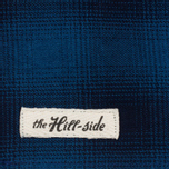Платок The Hill-Side Ombre Plaid Flannel Indigo фото- 1