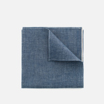 Платок The Hill-Side Selvedge Chambray Indigo фото- 0