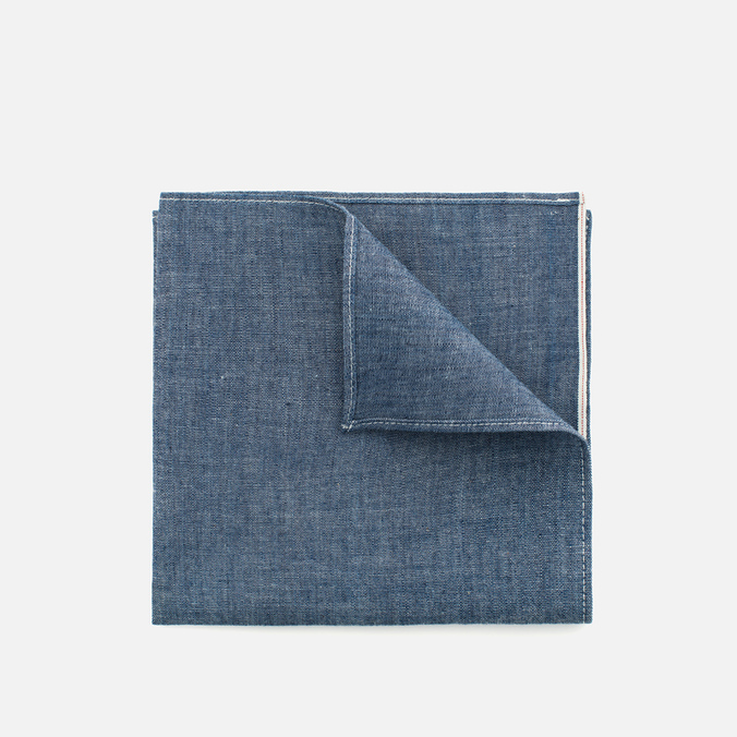 Платок The Hill-Side Selvedge Chambray Indigo