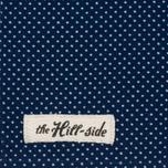Платок The Hill-Side Wabash Polka Dot Indigo фото- 1