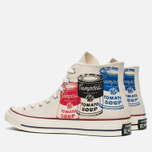 Мужские кеды Converse All Star Chuck 70 Andy Warhol Natural/White фото- 2