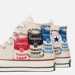 Мужские кеды Converse All Star Chuck 70 Andy Warhol Natural/White фото- 7