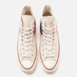 Мужские кеды Converse All Star Chuck 70 Andy Warhol Natural/White фото- 4