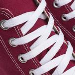 Кеды Converse Chuck Taylor All Star Classic Hi Maroon/White фото- 6