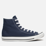 Converse Chuck Taylor All Star Classic Hi Plimsoles Navy/White photo- 0