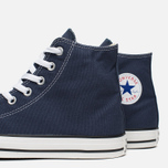 Converse Chuck Taylor All Star Classic Hi Plimsoles Navy/White photo- 7