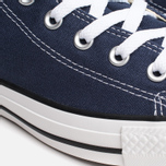 Converse Chuck Taylor All Star Classic Hi Plimsoles Navy/White photo- 5