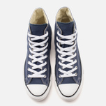 Converse Chuck Taylor All Star Classic Hi Plimsoles Navy/White photo- 4