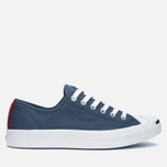 Converse Jack Purcell Ox Plimsoles Navy/White photo- 0