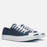 Converse Jack Purcell Ox Plimsoles Navy/White photo- 1