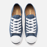 Converse Jack Purcell Ox Plimsoles Navy/White photo- 4