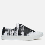 Кеды Converse Jack Purcell Painted Graphic Black/White фото- 0