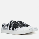 Кеды Converse Jack Purcell Painted Graphic Black/White фото- 1