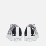 Кеды Converse Jack Purcell Painted Graphic Black/White фото- 3