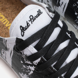 Кеды Converse Jack Purcell Painted Graphic Black/White фото- 6