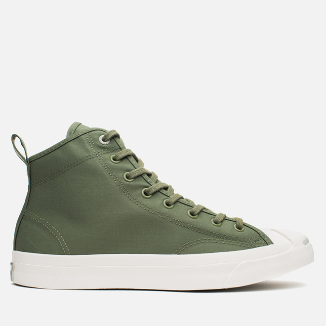Мужские кеды Converse x Hancock Jack Purcell Mid Military Green