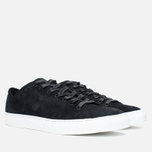 Мужские кеды Diemme Veneto Low Heavyweight Suede Black фото- 1