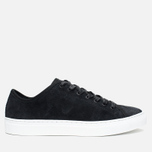 Мужские кеды Diemme Veneto Low Heavyweight Suede Black фото- 0