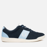 Fred Perry Stockport Suede '82 Plimsoles Navy photo- 0
