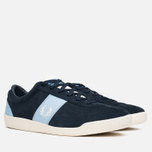 Fred Perry Stockport Suede '82 Plimsoles Navy photo- 1