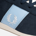 Fred Perry Stockport Suede '82 Plimsoles Navy photo- 6
