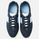 Fred Perry Stockport Suede '82 Plimsoles Navy photo- 4