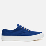 Maison Kitsune Canvas Rubber Plimsoles Navy photo- 0