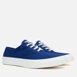 Maison Kitsune Canvas Rubber Plimsoles Navy photo- 1
