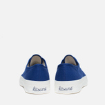 Maison Kitsune Canvas Rubber Plimsoles Navy photo- 3