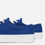 Maison Kitsune Canvas Rubber Plimsoles Navy photo- 5