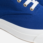 Maison Kitsune Canvas Rubber Plimsoles Navy photo- 7