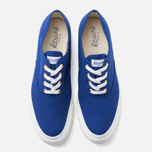 Maison Kitsune Canvas Rubber Plimsoles Navy photo- 4