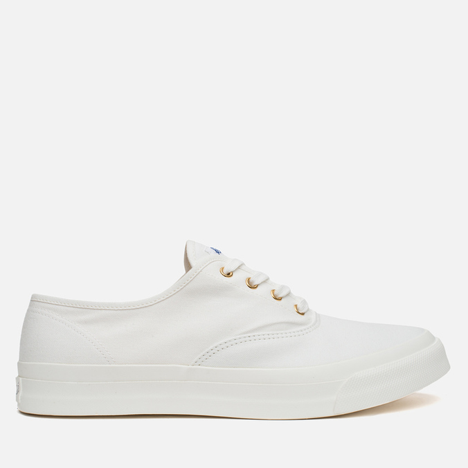 Мужские кеды Maison Kitsune Canvas Rubber White