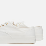 Мужские кеды Maison Kitsune Canvas Rubber White фото- 5