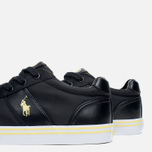 Мужские кеды Polo Ralph Lauren Hanford NE Black фото- 5