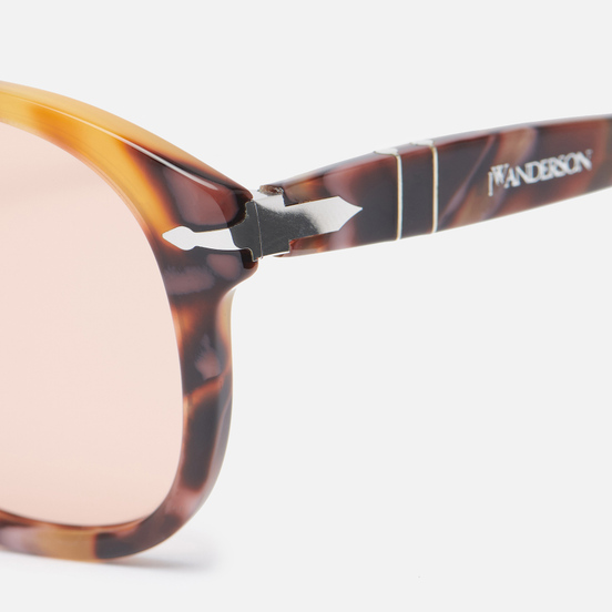 Солнцезащитные очки Persol x JW Anderson 649 Dark Pink Spotted/Clear Pink