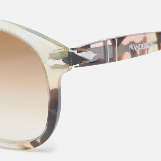 Солнцезащитные очки Persol x JW Anderson 649 Brown Spotted/Clear Gradient Brown