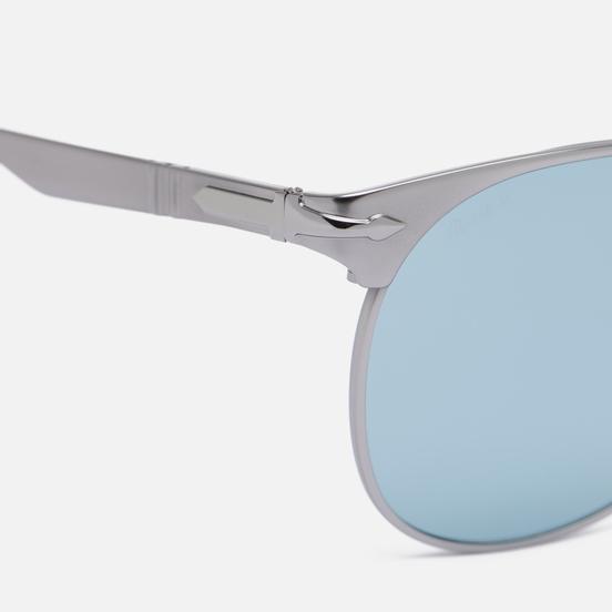 Солнцезащитные очки Persol x Stone Island Gunmetal Silver/Blue