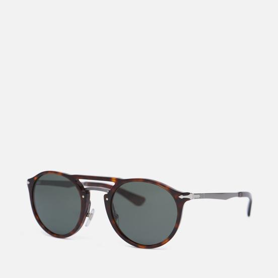 Солнцезащитные очки Persol PO3264S Polarized Havana/Gunmetal/Polar Green