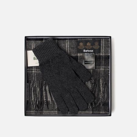 Подарочный набор Barbour Classic Black/Grey Tartan