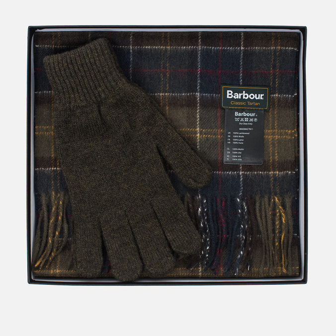 Barbour Classic Gift Box Olive