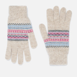 Подарочный набор Barbour Lambswool Scarf And Glove Pink фото- 2