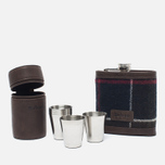 Подарочный набор Barbour Tartan Hip Flask And Cups Classic Tartan фото- 1