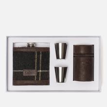 Подарочный набор Barbour Tartan Hip Flask And Cups Classic Tartan фото- 1