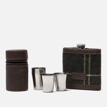 Подарочный набор Barbour Tartan Hip Flask And Cups Classic Tartan фото- 0